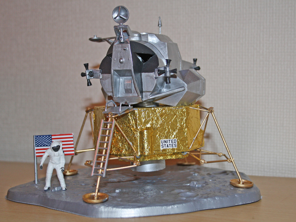 Apollo Lunar Lander Model - Pics about space