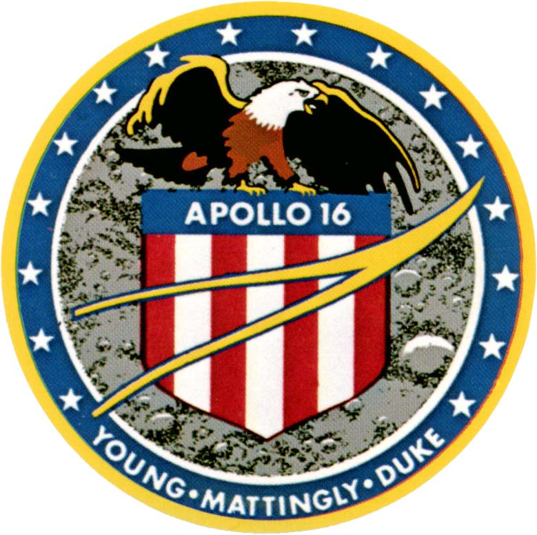 Apollo 13 Patch Apollo 16 Mission Patch